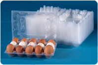Containers for eggs